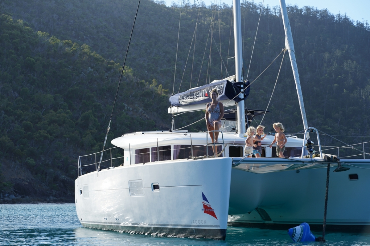 Whitsundays Rent A Yacht Angelique