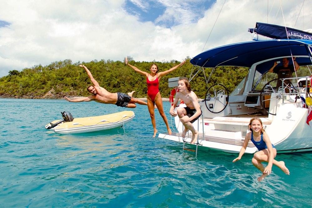 family yacht charter snorkelling whitsundays