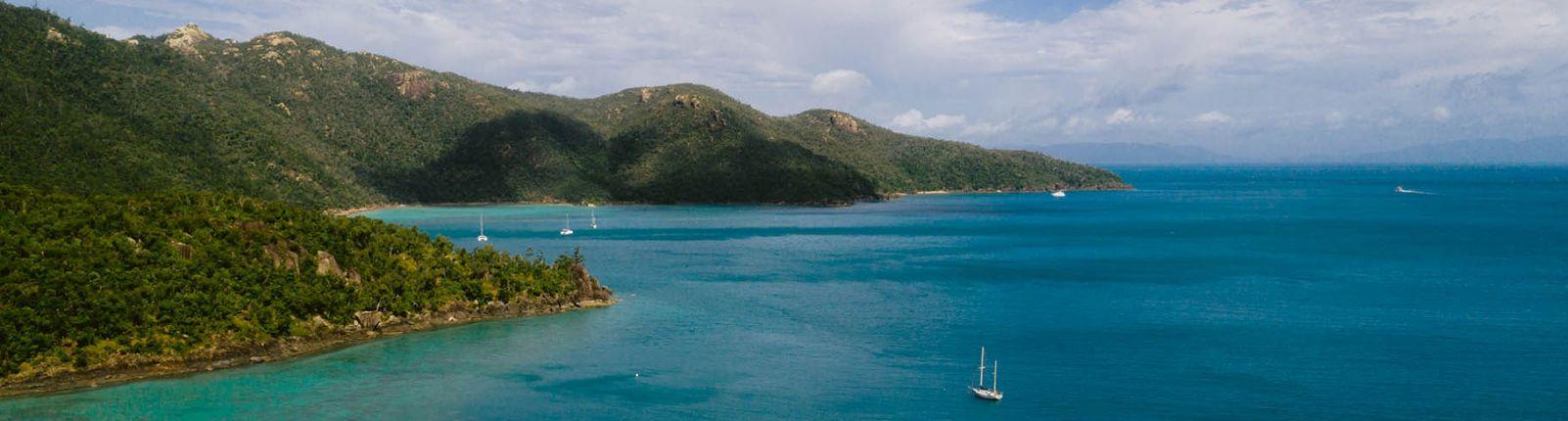 Cruising the Whitsunday Islands