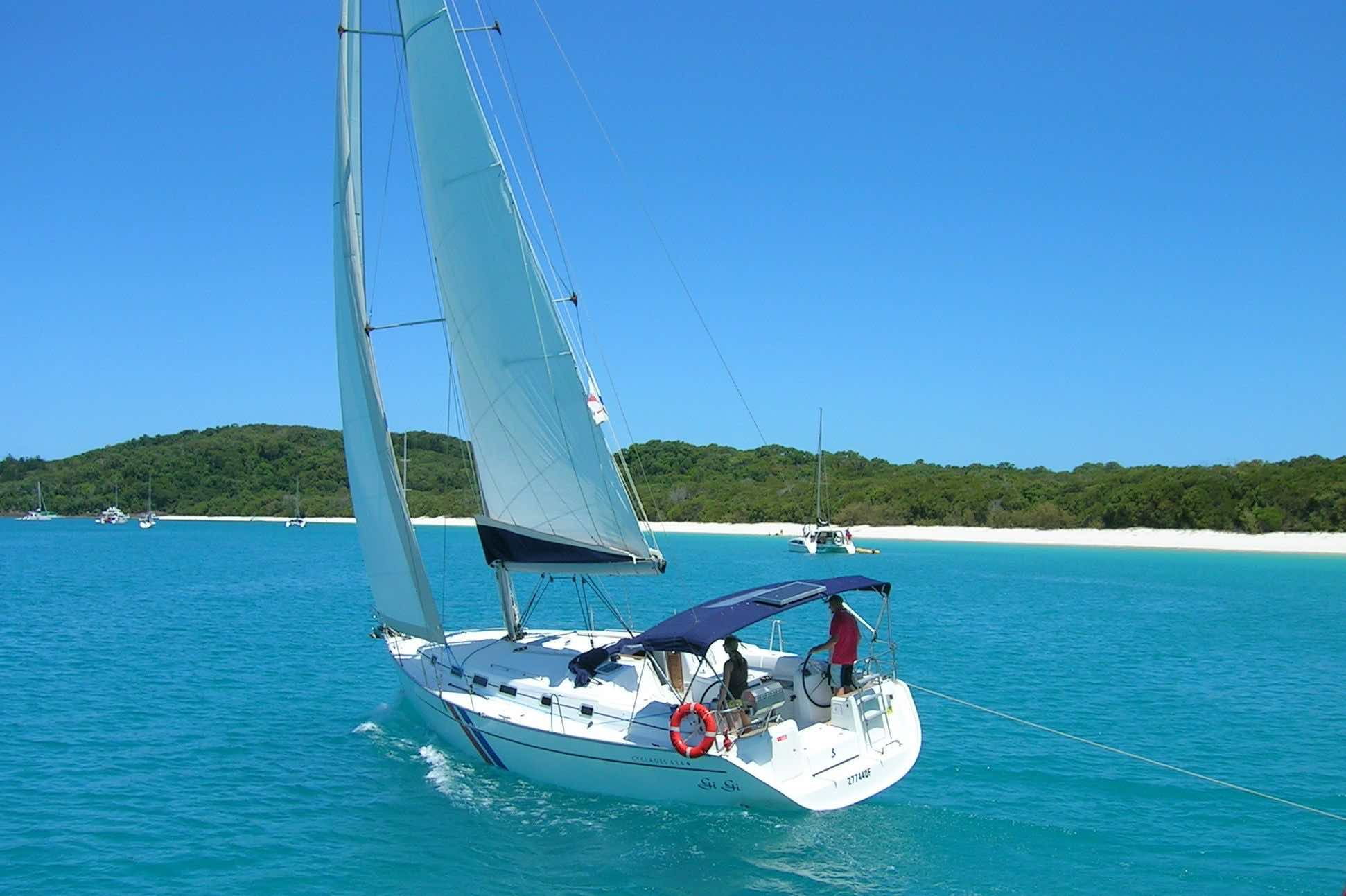 Sailing weather in the whitsundays