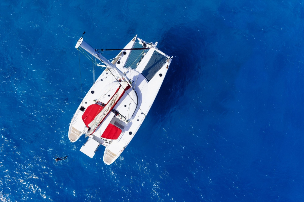 Catamaran Whitsundays