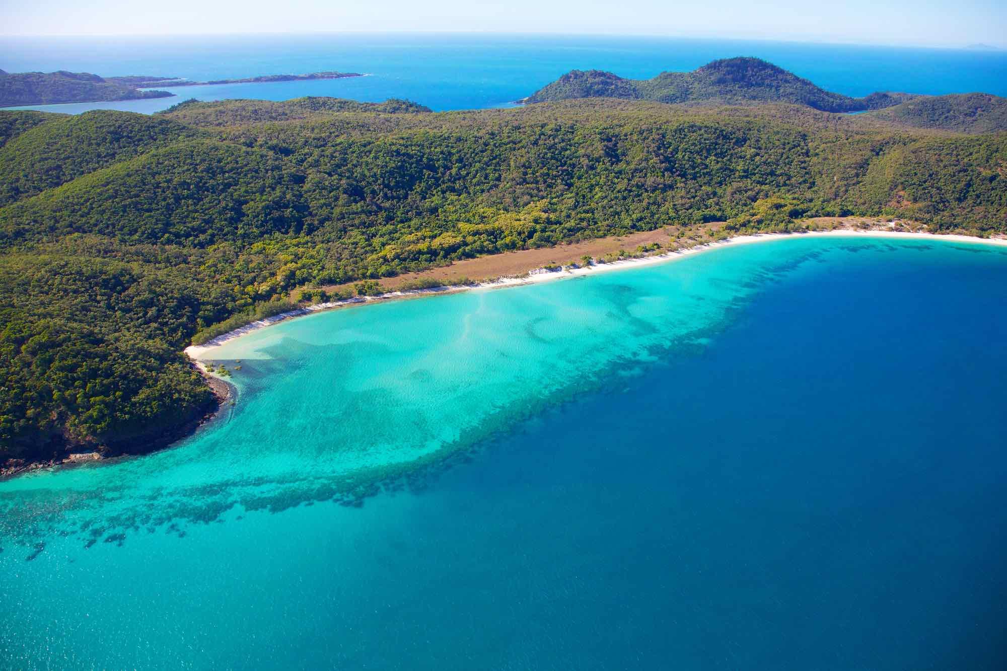 Trip around Australia Whitsundays