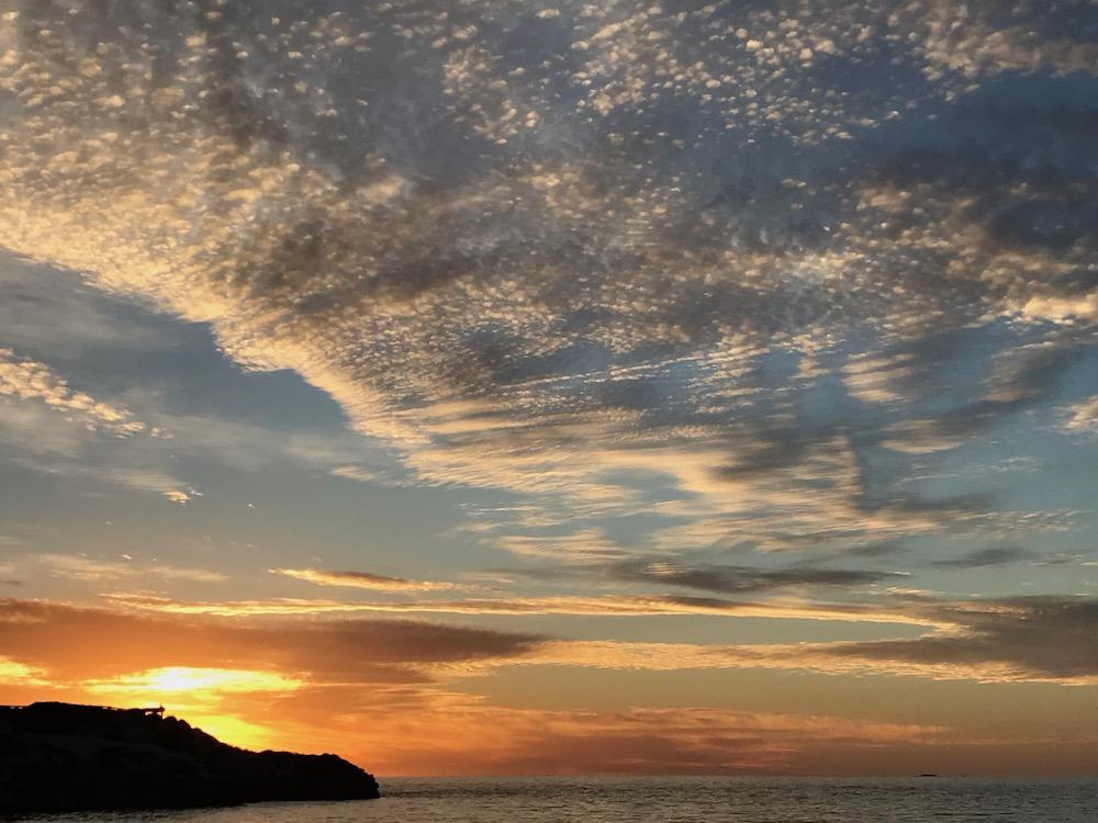 Australia Bucket List WA sunset