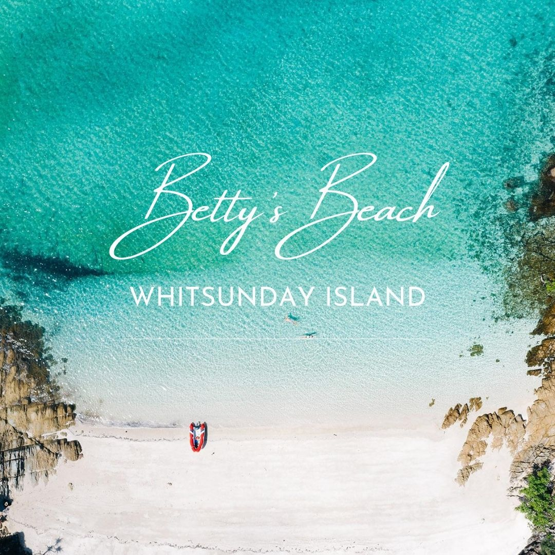 Betty's Beach Cruising Whitsundays