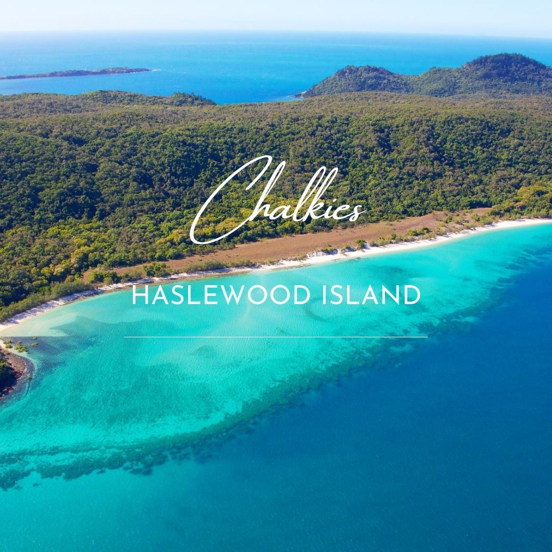 Chalkies Beach Whitsundays Cruising