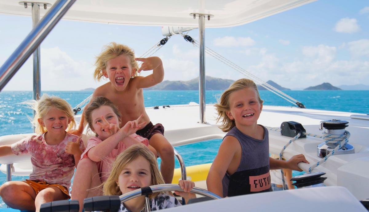 Trip In A Van Sailing with Kids