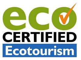 Eco-tourism certified logo