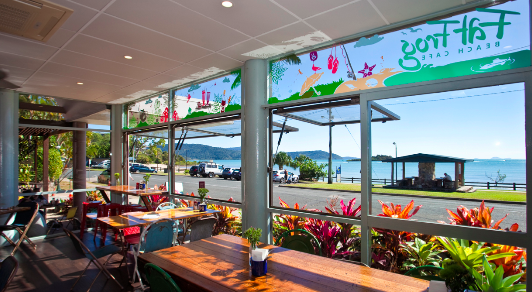 Fat Frog cafe Airlie Beach
