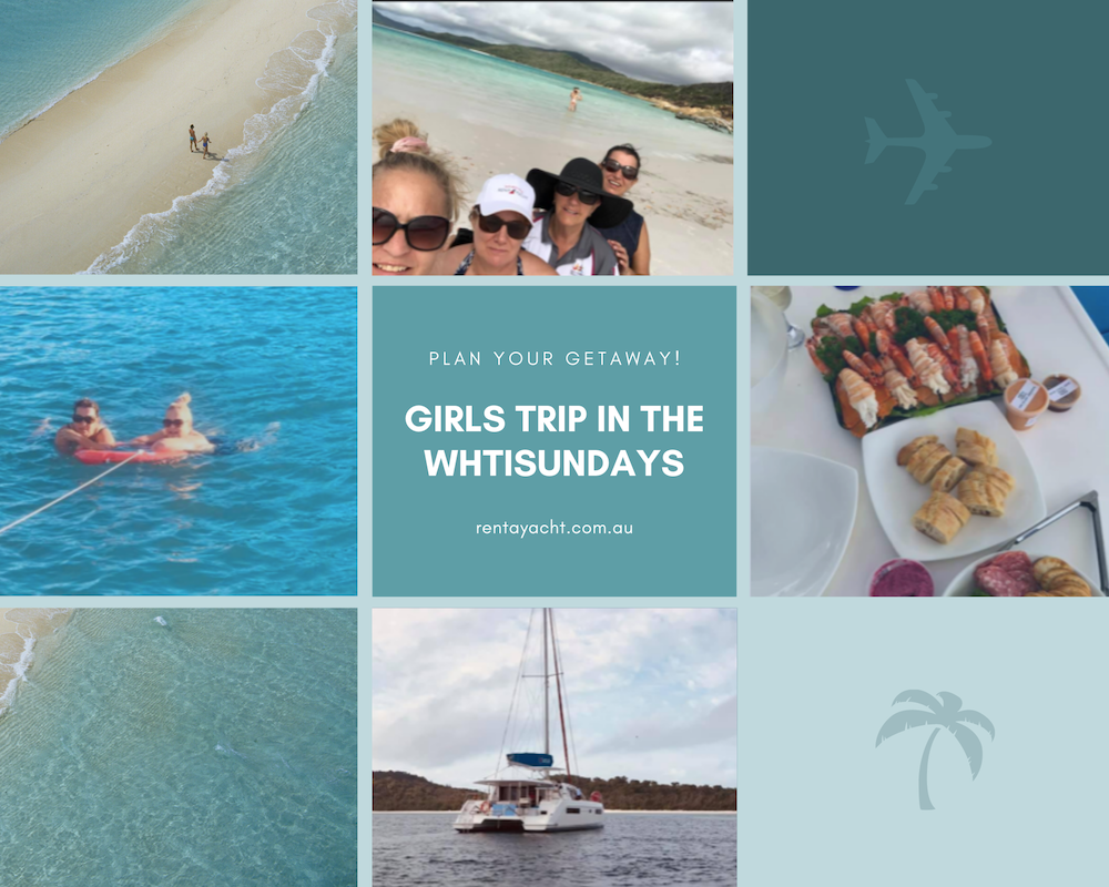Girls trip whitsundays