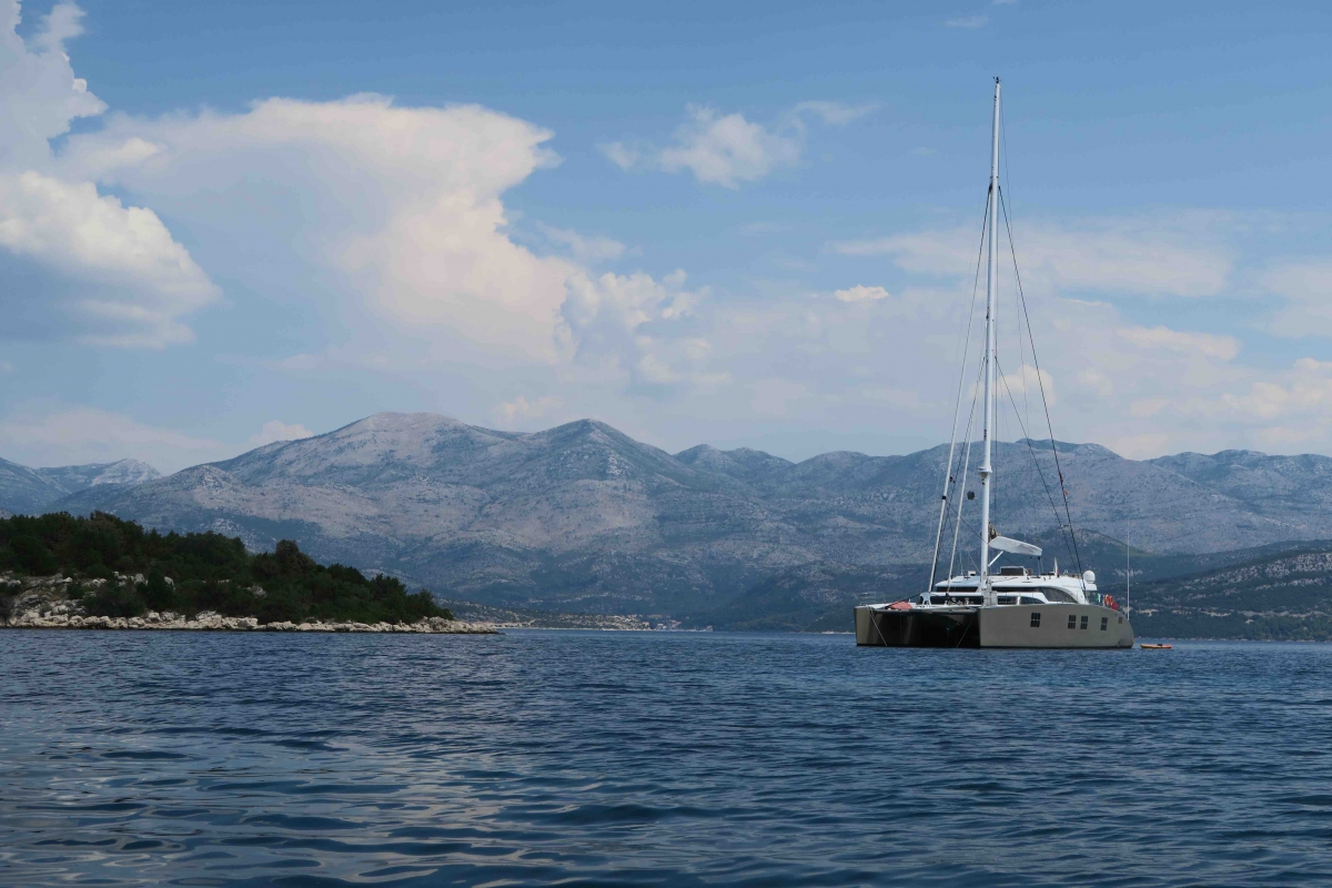 Charter a yacht in Croatia
