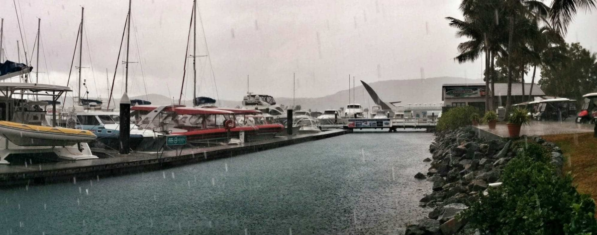 Hamilton Island Marina Wet Season