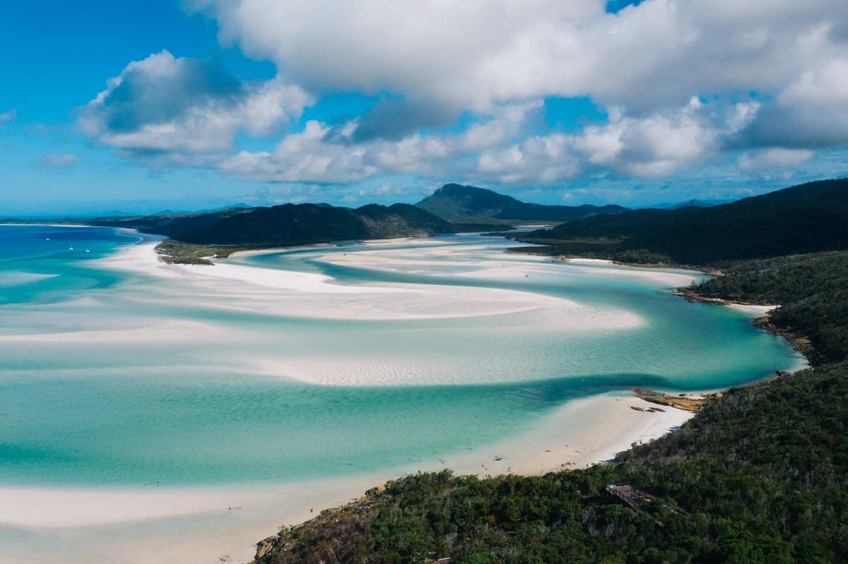 The Whitsundays Hill Inlet