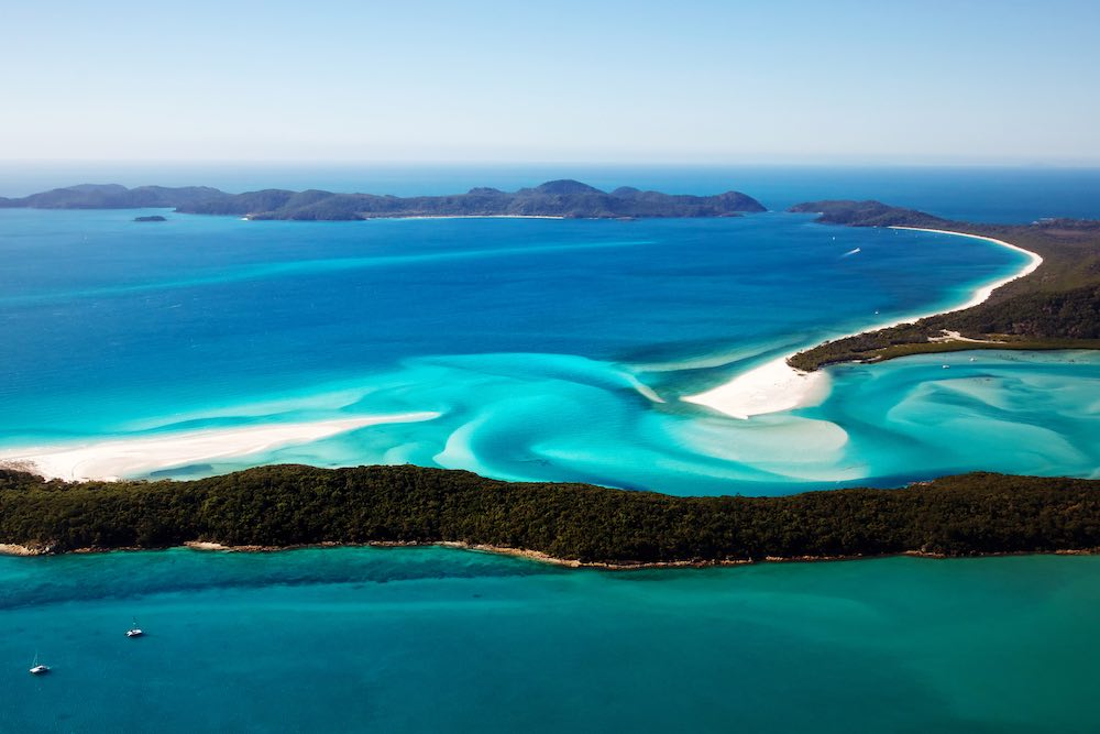 Hill Inlet Lookout Whitsunday Islands