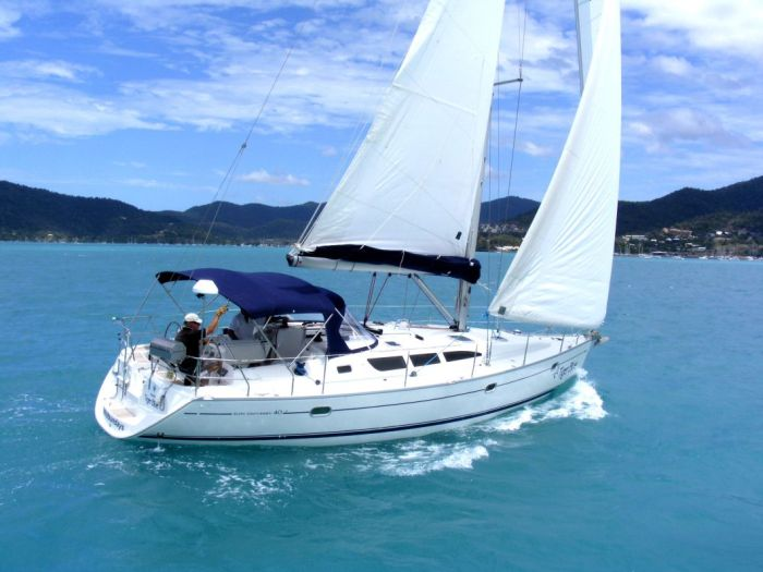 Tiger Blue Jeanneau 40 Whitsunday Rent a Yacht