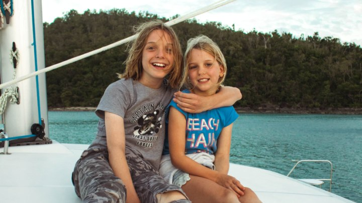 Whitsundays Bareboating with kids
