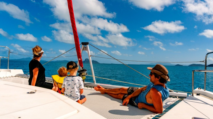 Why you should sail the Whitsundays as a family