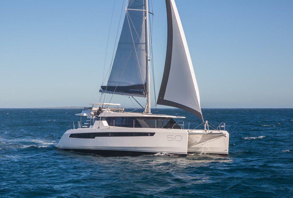 Leopard 50 - Point of Sail