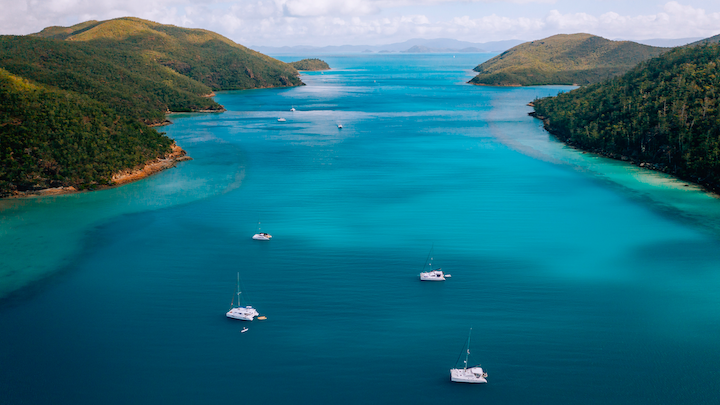 3 underrated times of year to sail the Whitsundays