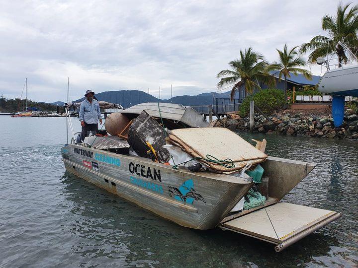 Ocean Crusader Barge