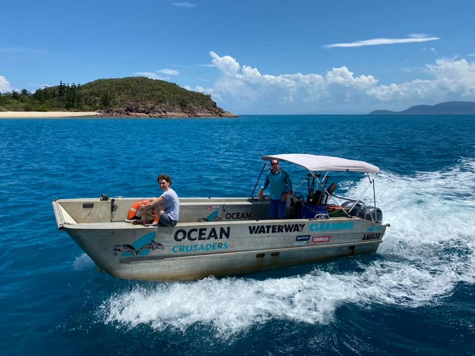 Ocean Crusader Boat Whitsundays