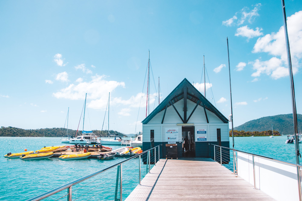 Shute Harbour Charter yacht Whitsundays