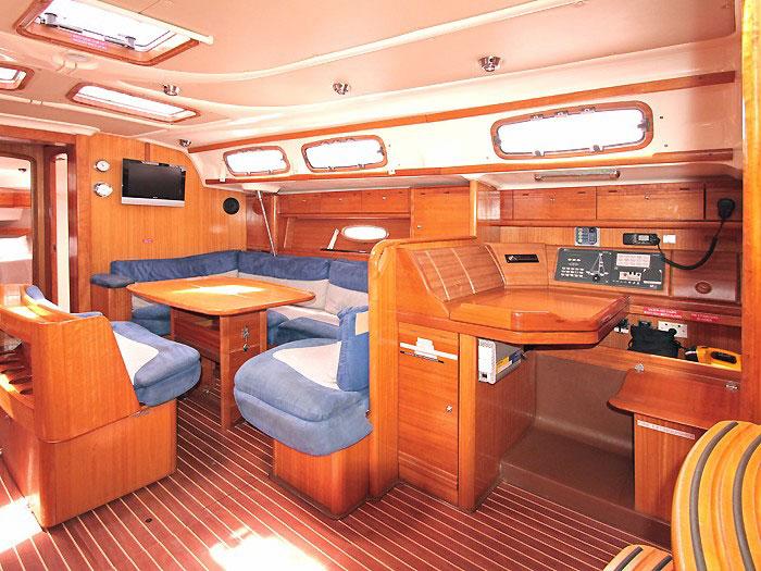 Bavaria 46 yacht in the Whitsundays