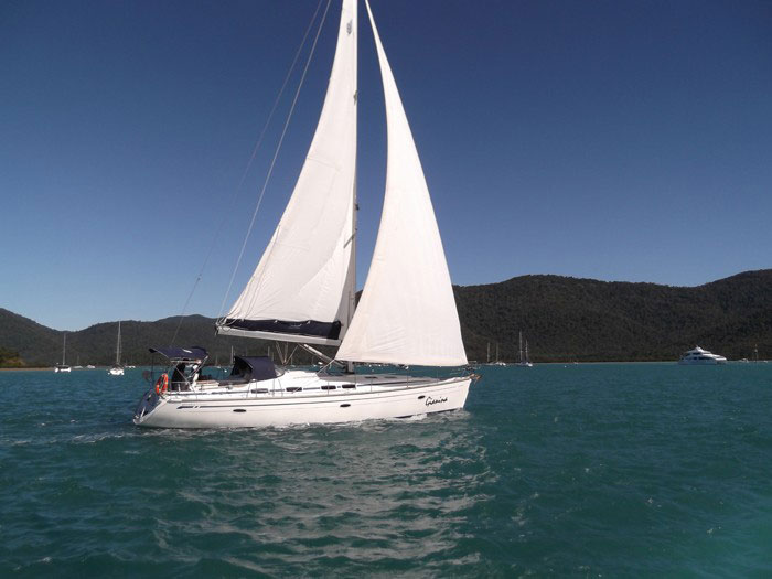 Bavaria 46 yacht in the Whitsundays
