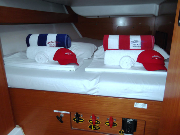 Beneteau 43.4 yacht in the Whitsundays