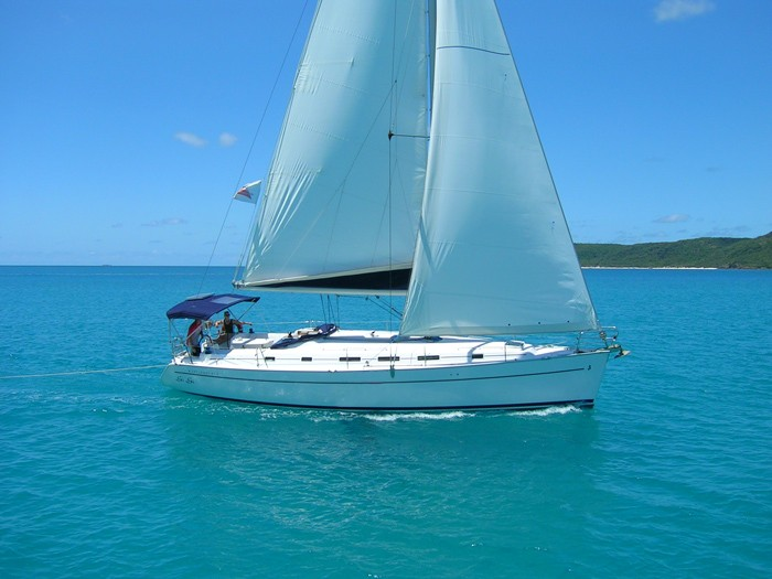Beneteau 43.4 yacht in the Whitsundays