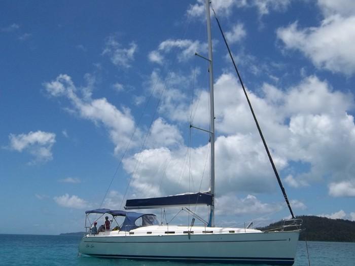 GiGi Beneteau 43 Whitsunday Rent a Yacht