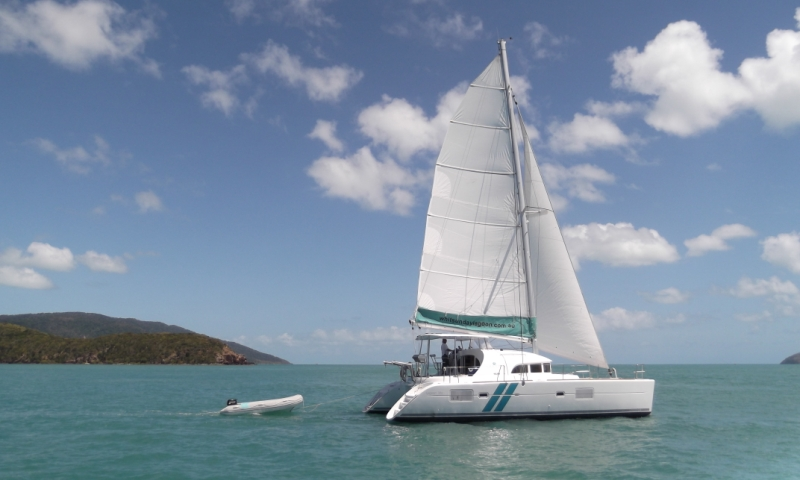 Beneteau Lagoon 380 catamaran in the Whitsundays