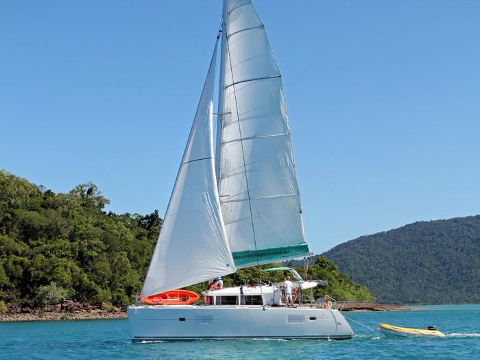 Romantic yacht holiday
