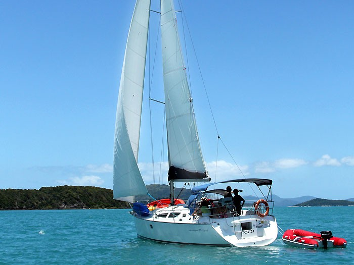 Jeanneau 35 Sun Odyssey Legende yacht in the Whitsundays