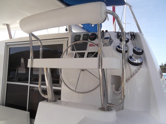 Leopard 38 sailing catamaran in the Whitsundays