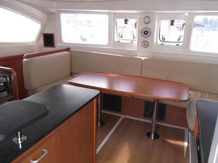 Leopard 38 sailing catamaran in the Whitsundays