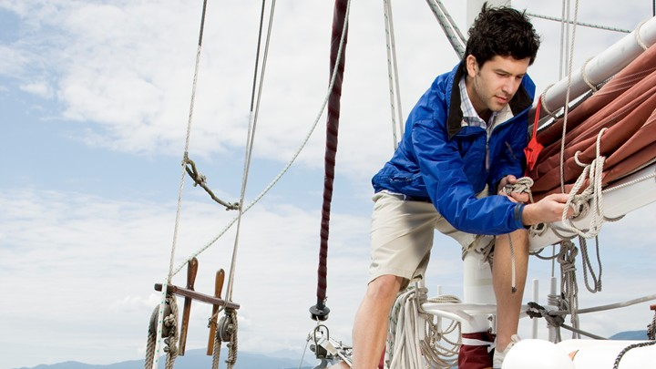 Learning to sail with Whitsunday Rent A Yacht