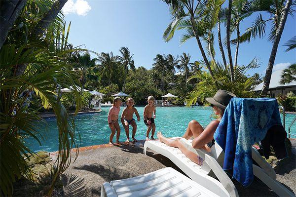 Hamilton Island Pool resorts Whitsundays
