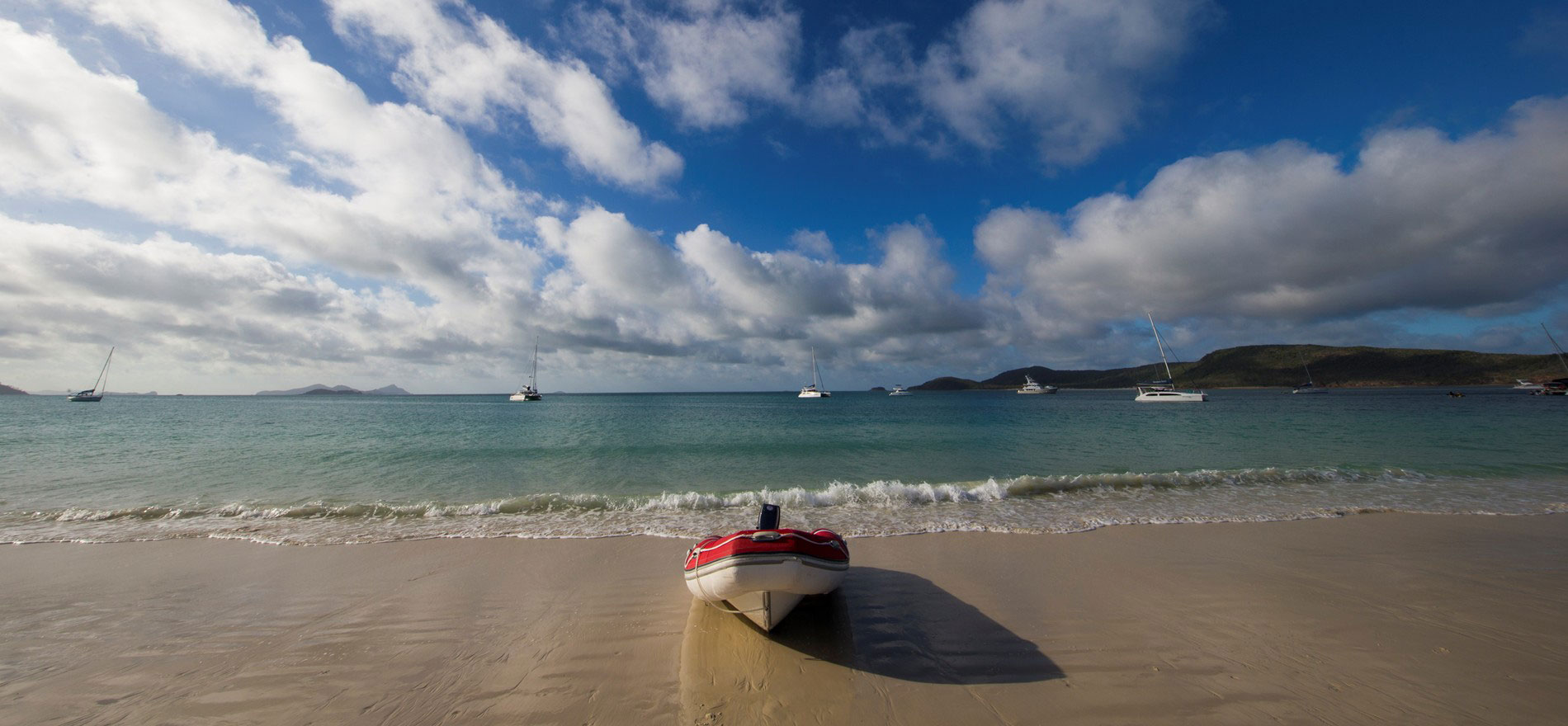 Travel to the Whitsunday Islands