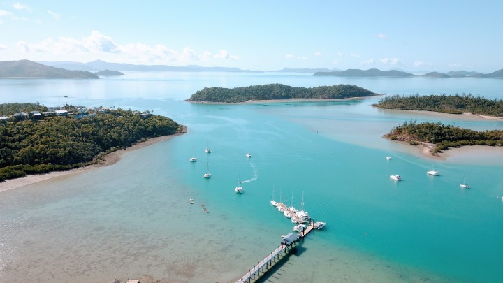 Whitsunday Rent A Yacht base - Shute Harbour