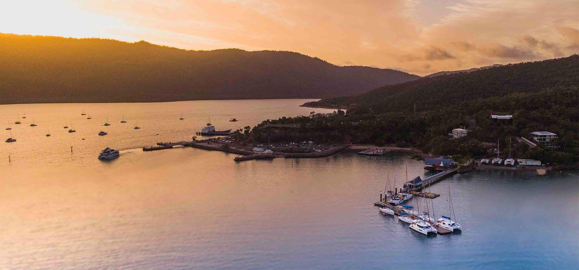 Shute Harbour at Sunrise