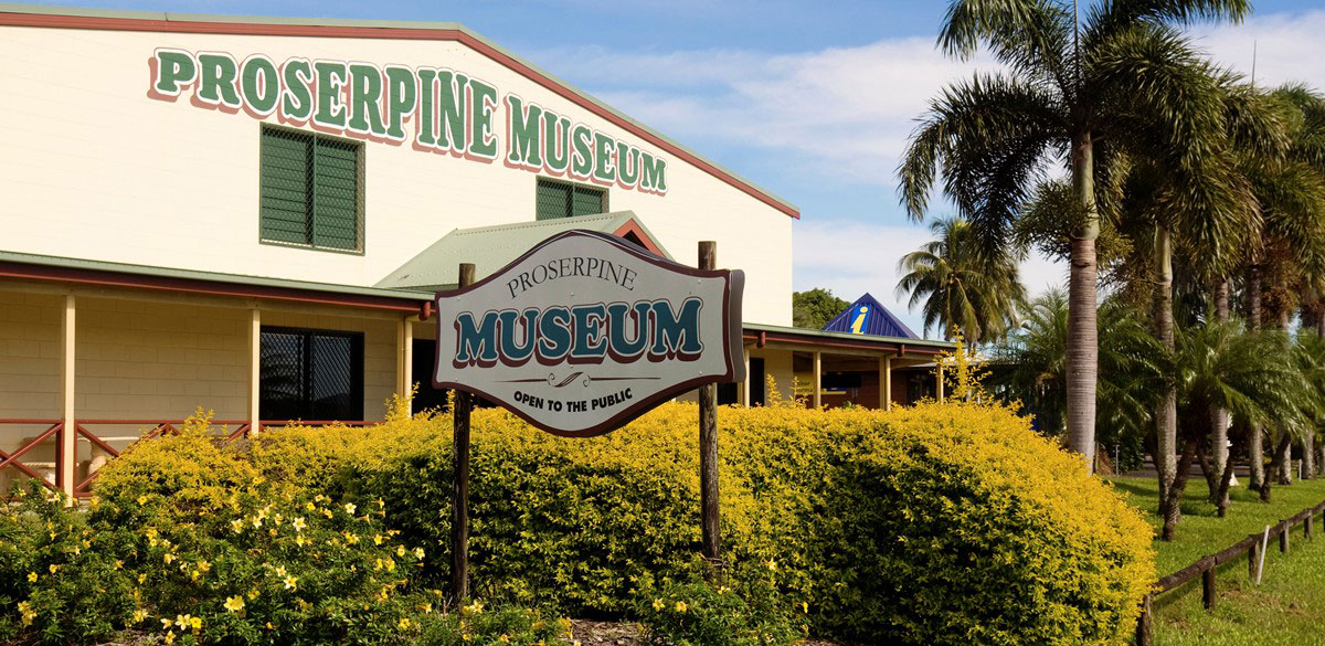 Proserpine Museum buildings in Proserpine on the Whitsunday coast